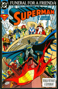 Cover Thumbnail for Superman (DC, 1987 series) #76 [Direct]