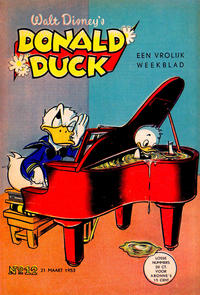 Cover Thumbnail for Donald Duck (Geïllustreerde Pers, 1952 series) #12/1953
