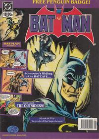 Cover Thumbnail for Batman Monthly (Egmont UK, 1988 series) #19