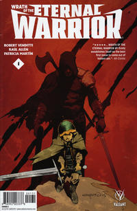 Cover Thumbnail for Wrath of the Eternal Warrior (Valiant Entertainment, 2015 series) #1 [Cover C - Cary Nord]