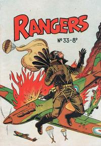 Cover Thumbnail for Rangers Comics (H. John Edwards, 1950 ? series) #33