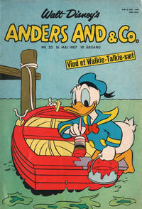 Cover Thumbnail for Anders And & Co. (Egmont, 1949 series) #20/1967
