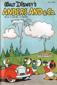 Cover Thumbnail for Anders And & Co. (Egmont, 1949 series) #23/1961