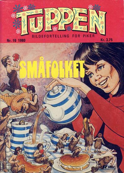 Cover for Tuppen (Serieforlaget / Se-Bladene / Stabenfeldt, 1969 series) #10/1980