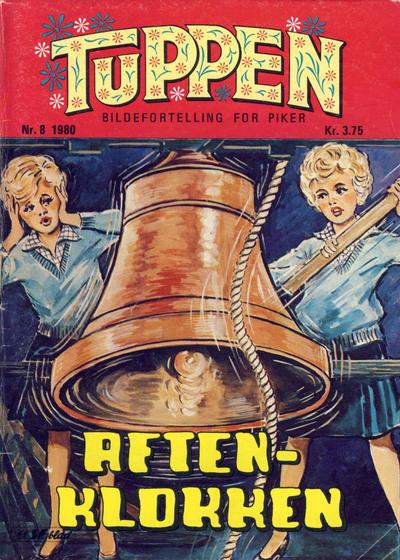Cover for Tuppen (Serieforlaget / Se-Bladene / Stabenfeldt, 1969 series) #8/1980