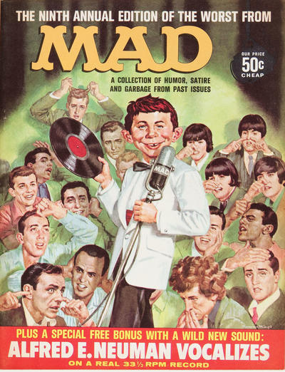 Cover for The Worst from MAD (EC, 1958 series) #9
