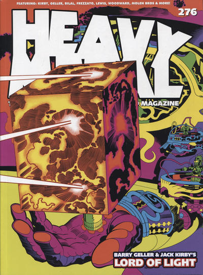Cover for Heavy Metal Magazine (Heavy Metal, 1977 series) #276 [Cover A]