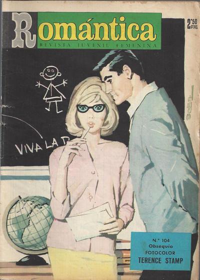Cover for Romantica (Ibero Mundial de ediciones, 1961 series) #104