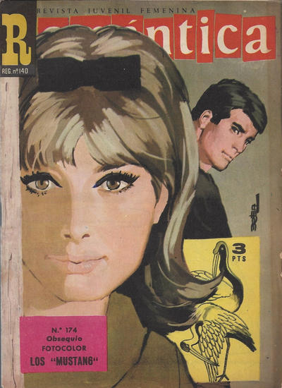 Cover for Romantica (Ibero Mundial de ediciones, 1961 series) #174