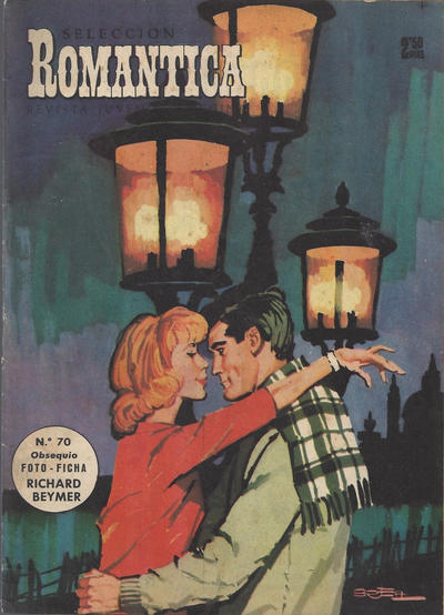 Cover for Romantica (Ibero Mundial de ediciones, 1961 series) #70