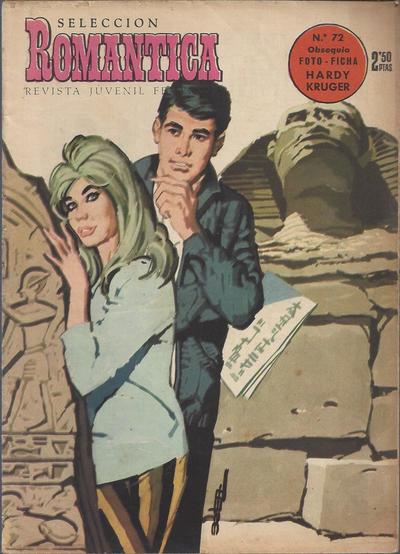 Cover for Romantica (Ibero Mundial de ediciones, 1961 series) #72