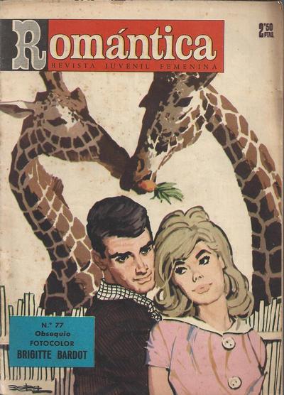 Cover for Romantica (Ibero Mundial de ediciones, 1961 series) #77