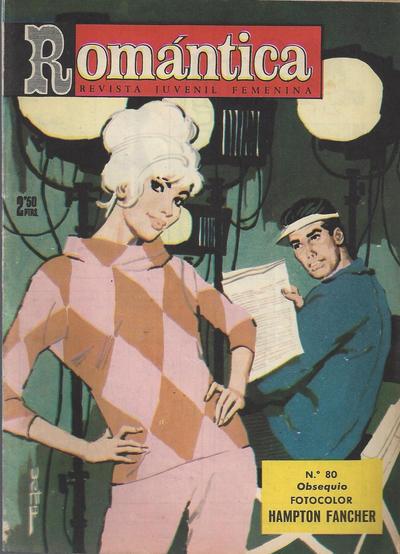Cover for Romantica (Ibero Mundial de ediciones, 1961 series) #80