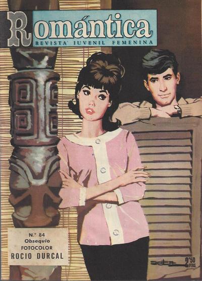 Cover for Romantica (Ibero Mundial de ediciones, 1961 series) #84