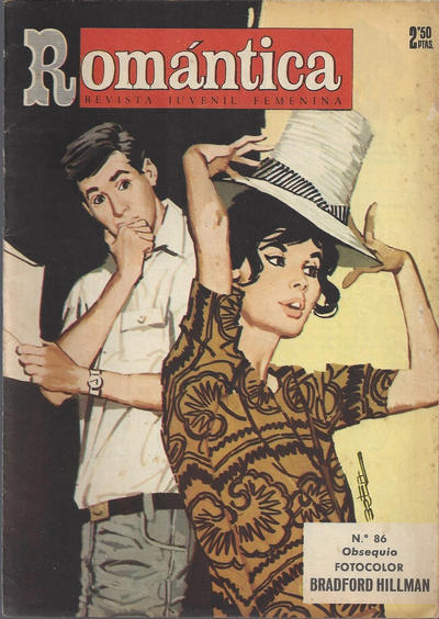 Cover for Romantica (Ibero Mundial de ediciones, 1961 series) #86