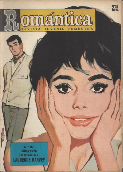 Cover for Romantica (Ibero Mundial de ediciones, 1961 series) #87
