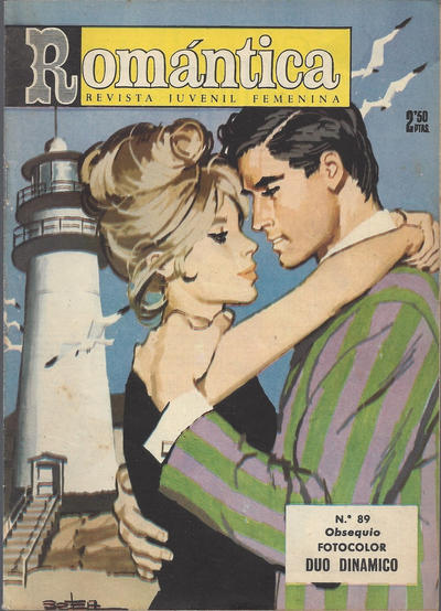 Cover for Romantica (Ibero Mundial de ediciones, 1961 series) #89
