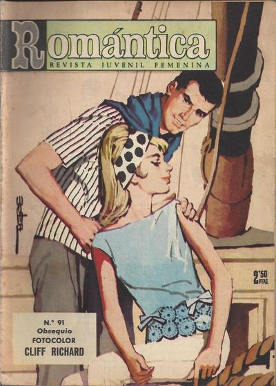 Cover for Romantica (Ibero Mundial de ediciones, 1961 series) #91