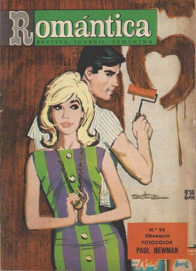Cover for Romantica (Ibero Mundial de ediciones, 1961 series) #94