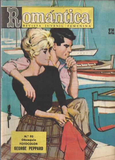 Cover for Romantica (Ibero Mundial de ediciones, 1961 series) #95