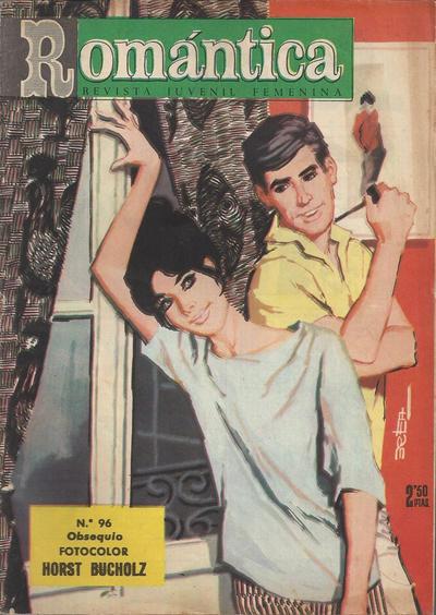 Cover for Romantica (Ibero Mundial de ediciones, 1961 series) #96
