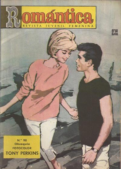 Cover for Romantica (Ibero Mundial de ediciones, 1961 series) #98