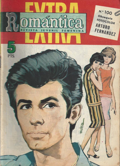 Cover for Romantica (Ibero Mundial de ediciones, 1961 series) #100