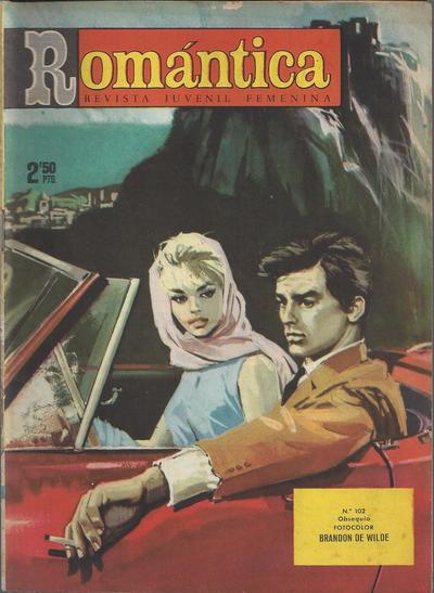 Cover for Romantica (Ibero Mundial de ediciones, 1961 series) #102