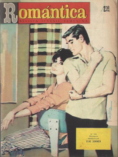 Cover for Romantica (Ibero Mundial de ediciones, 1961 series) #103