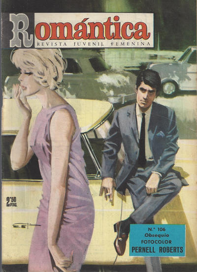 Cover for Romantica (Ibero Mundial de ediciones, 1961 series) #106