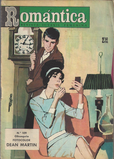 Cover for Romantica (Ibero Mundial de ediciones, 1961 series) #109