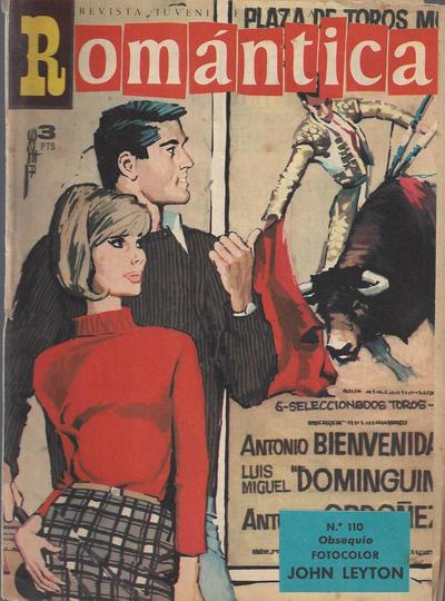 Cover for Romantica (Ibero Mundial de ediciones, 1961 series) #110