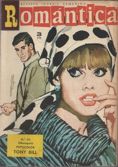 Cover for Romantica (Ibero Mundial de ediciones, 1961 series) #111