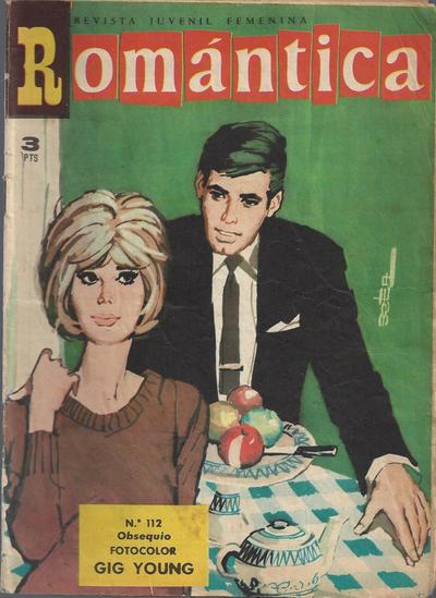 Cover for Romantica (Ibero Mundial de ediciones, 1961 series) #112