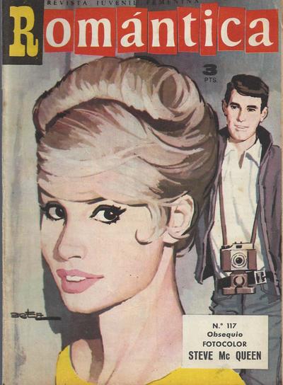 Cover for Romantica (Ibero Mundial de ediciones, 1961 series) #117
