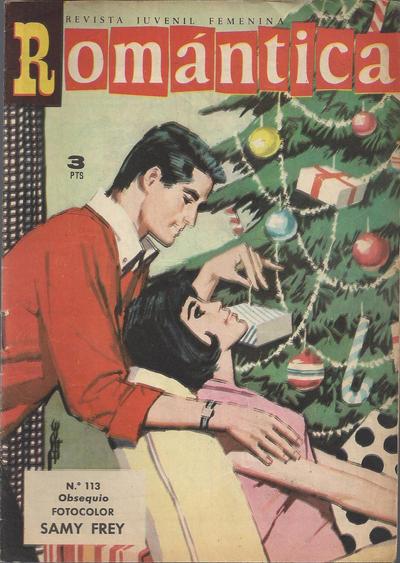 Cover for Romantica (Ibero Mundial de ediciones, 1961 series) #113