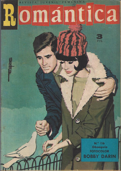 Cover for Romantica (Ibero Mundial de ediciones, 1961 series) #116