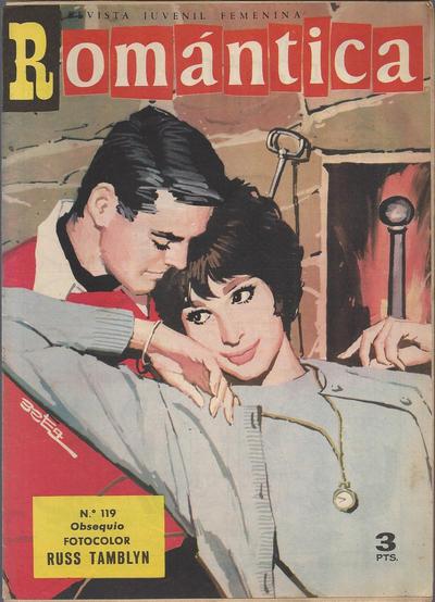 Cover for Romantica (Ibero Mundial de ediciones, 1961 series) #119