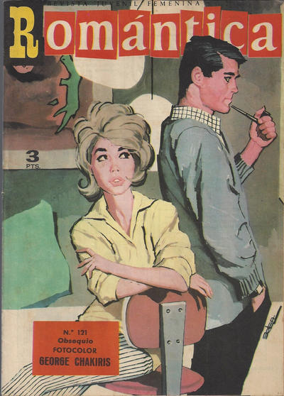 Cover for Romantica (Ibero Mundial de ediciones, 1961 series) #121