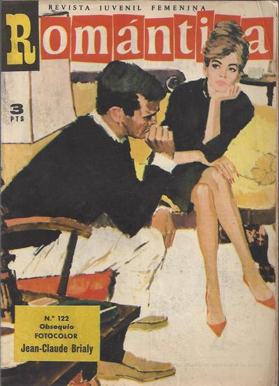 Cover for Romantica (Ibero Mundial de ediciones, 1961 series) #122