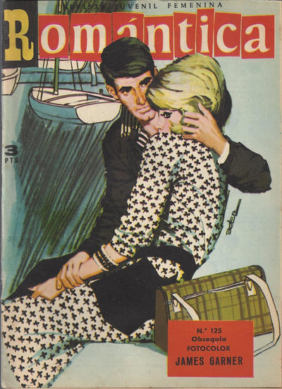Cover for Romantica (Ibero Mundial de ediciones, 1961 series) #125