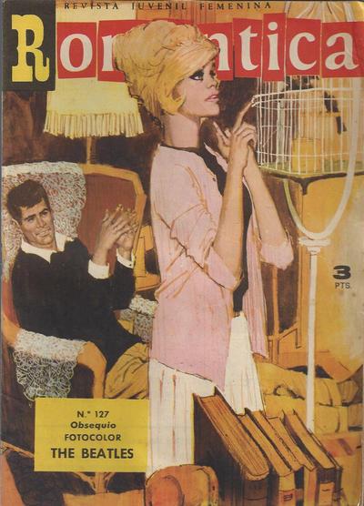 Cover for Romantica (Ibero Mundial de ediciones, 1961 series) #127