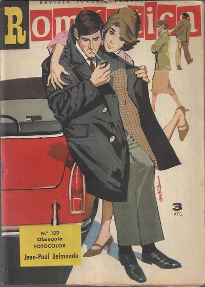 Cover for Romantica (Ibero Mundial de ediciones, 1961 series) #129