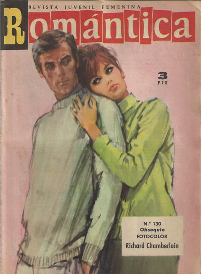 Cover for Romantica (Ibero Mundial de ediciones, 1961 series) #130