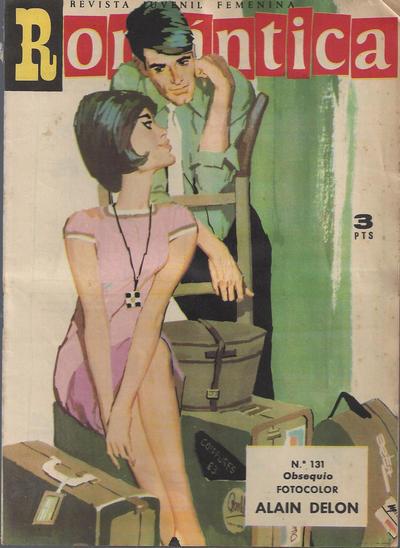 Cover for Romantica (Ibero Mundial de ediciones, 1961 series) #131