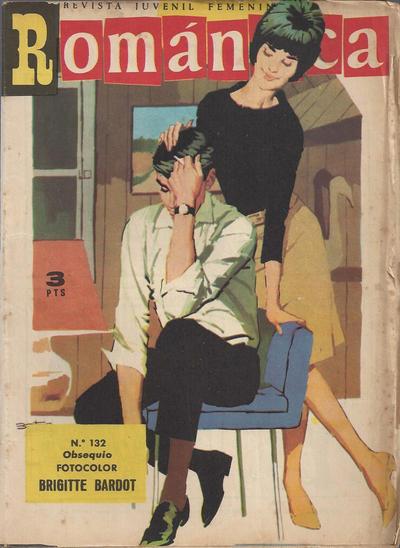 Cover for Romantica (Ibero Mundial de ediciones, 1961 series) #132
