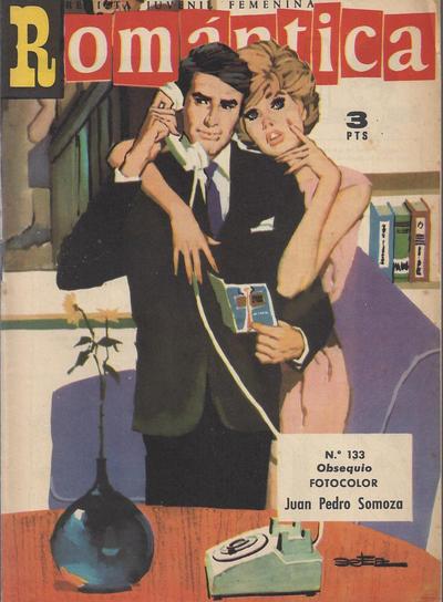 Cover for Romantica (Ibero Mundial de ediciones, 1961 series) #133