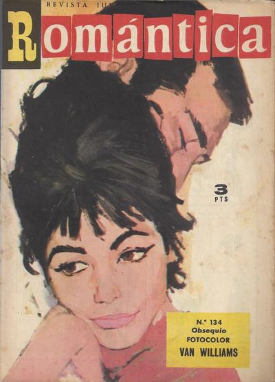 Cover for Romantica (Ibero Mundial de ediciones, 1961 series) #134