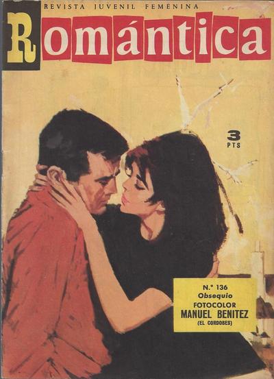 Cover for Romantica (Ibero Mundial de ediciones, 1961 series) #136