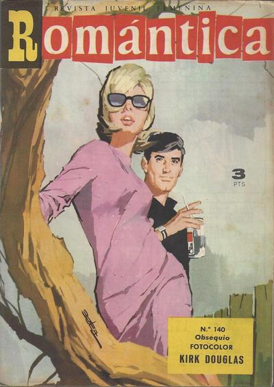 Cover for Romantica (Ibero Mundial de ediciones, 1961 series) #140